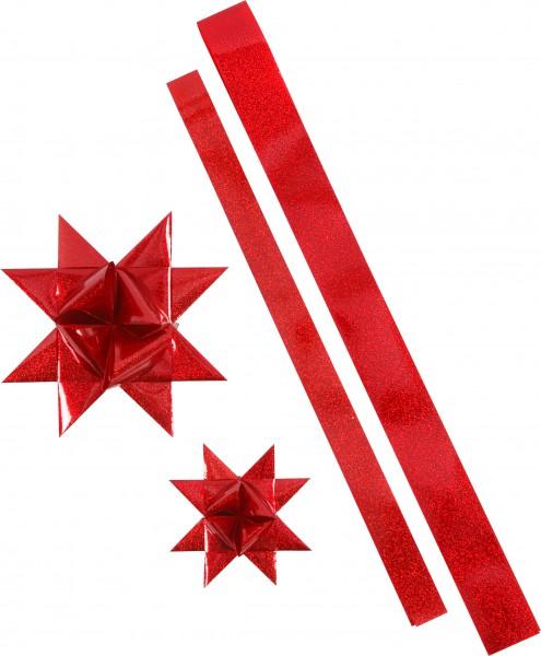 Paski w wodoodpornej folii na gwiazdy Froebla - czerwone