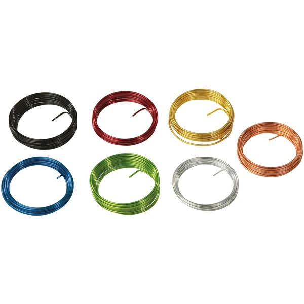 Zestaw drutów aluminiowych - kolorowe