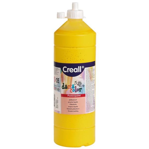 dacta color – Farby plakatowe na bazie wody, zestaw 8 x 1.000 ml