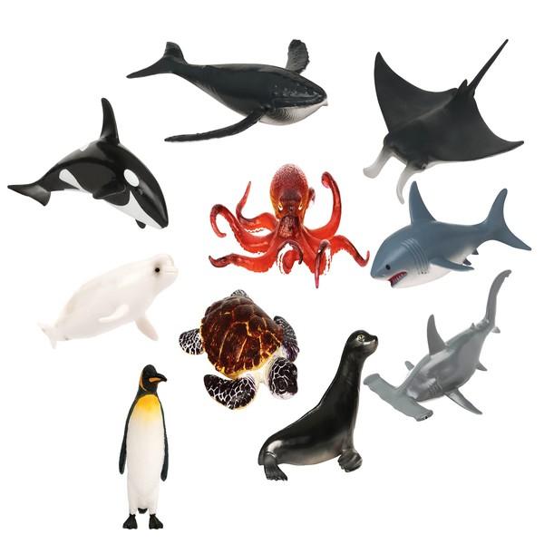 Zwierzęta wodne, 60 sztuk