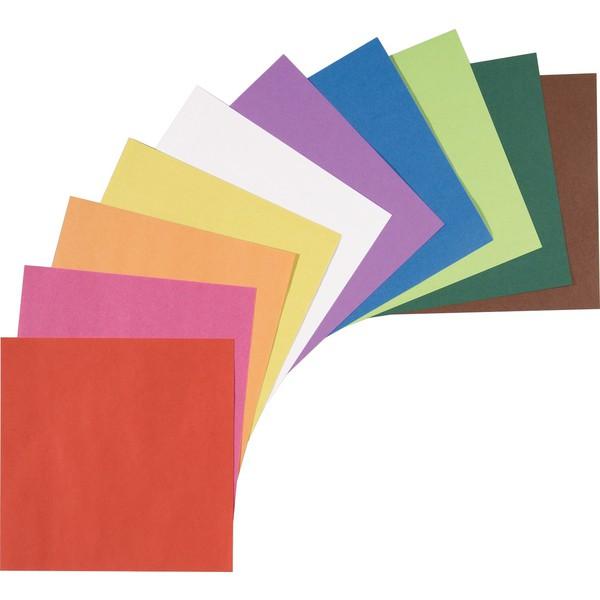 Kwadraty z kolorowego papieru do składania,20 x 20 cm , 500 sztuk