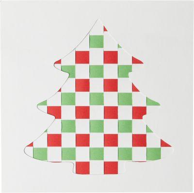 """Zrob to sam Froebel """"Wyplatane kartki bożonarodzeniowe"""""""