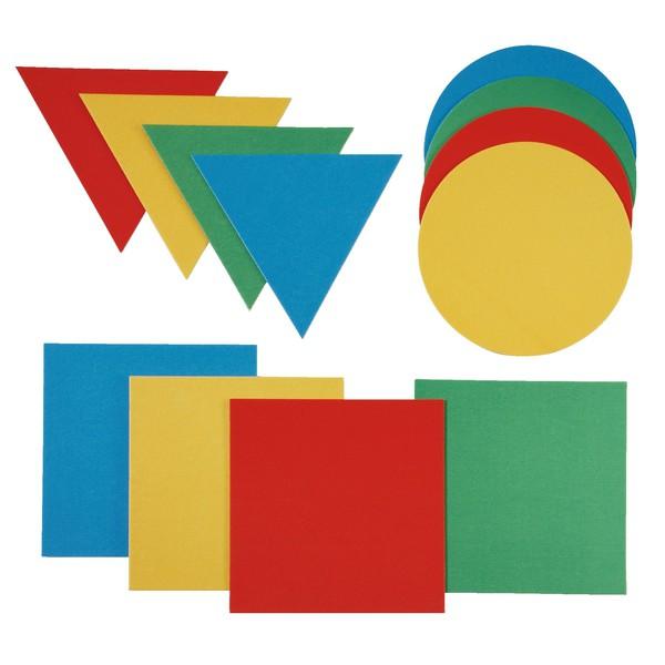 Formy geometryczne do skakania, 12 sztuk