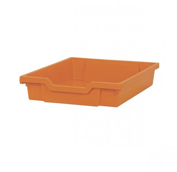 Pojemnik do przechowywania mały, wys. 7,5 cm pomarańczowy
