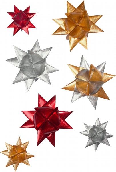 Paski w wodoodpornej folii na gwiazdy Froebla złote