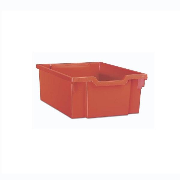Pojemnik do przechowywania średni wys. 15 cm pomarańczowy