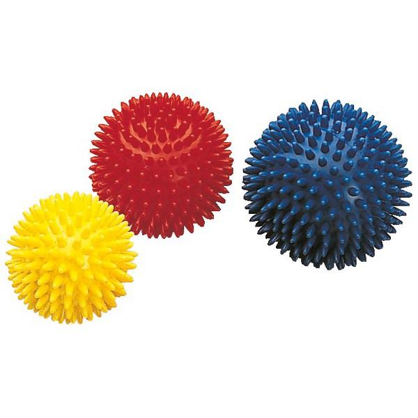 Piłki jeżyki Ø 8 cm, 3 sztuki